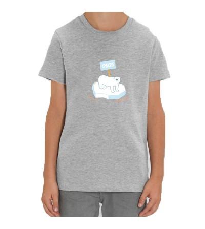 """Camiseta niña/niño """"OS.O.S"""""""